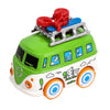 Volkswagen Pull Back Bus Toy - Green (MY66)