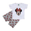 Character 2 PCs Suit For Girls - White (SB-027)