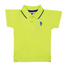 Casual Basic Polo Shirt For Boys - Lime (BTS-022)