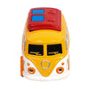 Volkswagen Pull Back Bus Toy - Yellow (MY66)