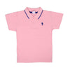 Casual Basic Polo Shirt For Boys - Candy Pink (BTS-020)