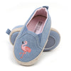 Flamingo Baby Booties For Unisex - Blue (YS-BB50)