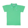 Casual Basic Polo Shirt For Boys - Green (BTS-017)