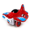 Pull Back Die Cast Fighter Plane - Red (0783-64)