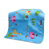 Giraffe Baby Changing Sheet - Blue (S-77)