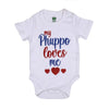 Loves Phuppo Romper For Unisex - White (IS-24)