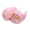 Love Mom Baby Booties Socks - Pink (PSK3)