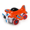 Pull Back Die Cast Fighter Plane - Orange (0783-64)