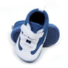 Casual Sports Baby Boy Booties - Blue/White (YS-BB57)
