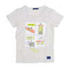 Just Enjoy Outside T-Shirt For Boys - White (BM4-2021)
