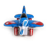 Pull Back Die Cast Fighter Plane - Blue (0783-64)