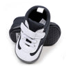 Sports Baby Boy Booties - Black/White (YS-BB41)