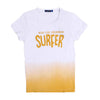 Surfer Printed T-Shirt For Boys - Yellow/White (BM5-2048)