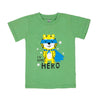 Hero T-Shirt For Boys - Green (BTS-053)