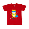 Hero T-Shirt For Boys - Red (BTS-051)