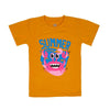 Summer T-Shirt For Boys - Mustard (BTS-050)