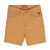 Cotton Short For Boys - Mustard (CS-007)