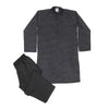Casual 2 PCs Shalwar Suit For Boys - Black (BS-15)