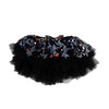 Fancy Net Skirt For Girls - Black (GS-015)