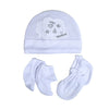 I Love Daddy Baby Cap Set - White (0014)