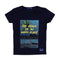 The Beach Printed T-Shirt For Boys - Navy (BM4-2022)