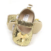 Baby Booties Gold Gleater YS-BB28