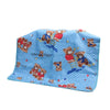 Happy Bear Baby Changing Sheet - Blue (S-76)