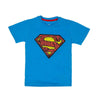 Super Man T-Shirt For Boys - Brill Blue (BTS-049)
