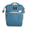 Multi-function Mama Baby Bag - Sea Green (0038)