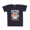 Astro Meow T-Shirt For Boys - Navy (BTS-062)