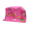 Giraffe Baby Changing Sheet - Pink (S-75)