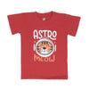 Astro Meow T-Shirt For Boys - Red (BTS-058)