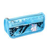 Unicorn Sequin Fancy Pencil Pouch - Blue (3319)