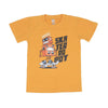 Skater Robot T-Shirt For Boys - Mustard (BTS-056)