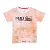 Surfers Paradise T-Shirt For Boys - Orange (BTS-059)