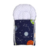 Solar System Baby Carry Nest - White/Blue (CN-05)
