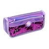 Fancy Shiny Sequin Pencil Pouch - Purple (6613)