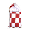 Check Style Baby Carry Nest - White/Red (CN-07)