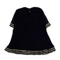Fancy Eastern Embroidery 3 PCs Suit For Girls - Navy (E3PC-15)