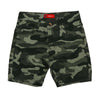 Camo Cotton Short For Boys - Green (BS-009)