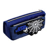 Spider Web Pencil Pouch - Blue (5808)