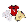 Little One Rompers 3 Pcs Set For Boys (IS-13)