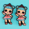 Character Hair Pin For Girls - Multi (9010-8)