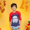 Star Wars Printed T-Shirt For Boys - Blue/Red (BTS-05)