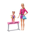 Barbie Gymnastics Coach Dolls & Playset (FXP39)