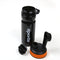 Stylish Sports Water Bottle - 600ml Black/Orange (YY-106)