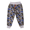 Dinosaur Fleece Pajama For Boys - Grey (5583)