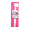 Fancy Bow Star Frill Headband - Grey (HB-43)