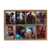 Iron Man Wall Art Sticker Set - 8 PCs (08849)