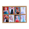 Frozen Wall Art Sticker Set - 8 PCs (08849)
